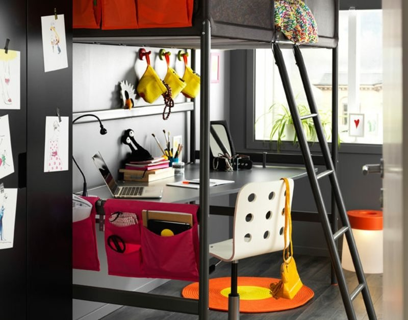 platzsparende Möbel Kinderzimmer