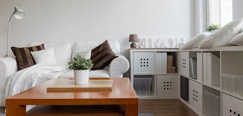 platzsparende Möbel Regale Ikea