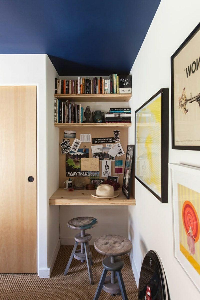 platzsparende Möbel Homeoffice Schreibtisch Nische