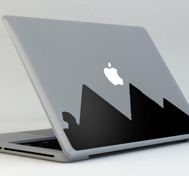 Macbook Aufkleber Bergen Aufkleber selbermachen