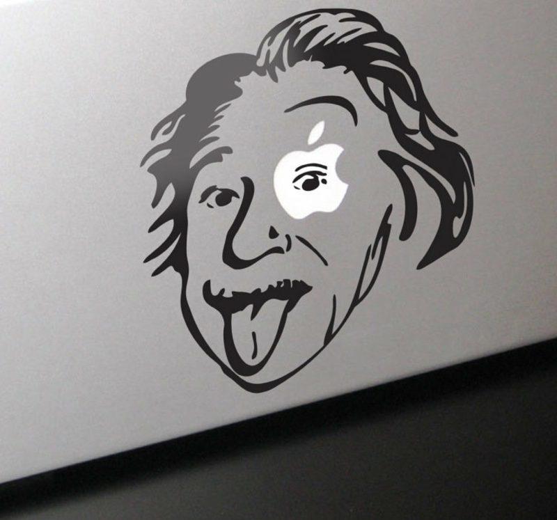 Macbook Aufkleber Einstein Macbook kaufen