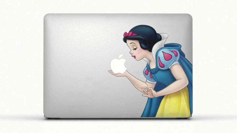 Macbook Aufkleber Decals selber machen