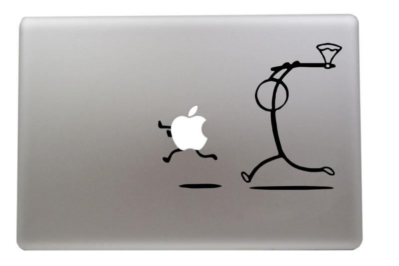 Macbook Aufkleber humorvoll Aufkleber Sticker