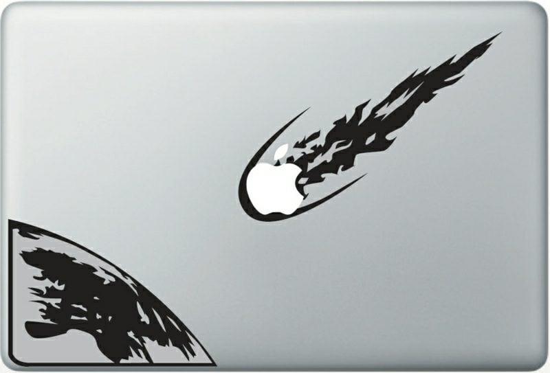 Macbook Aufkleber Sticker erstellen