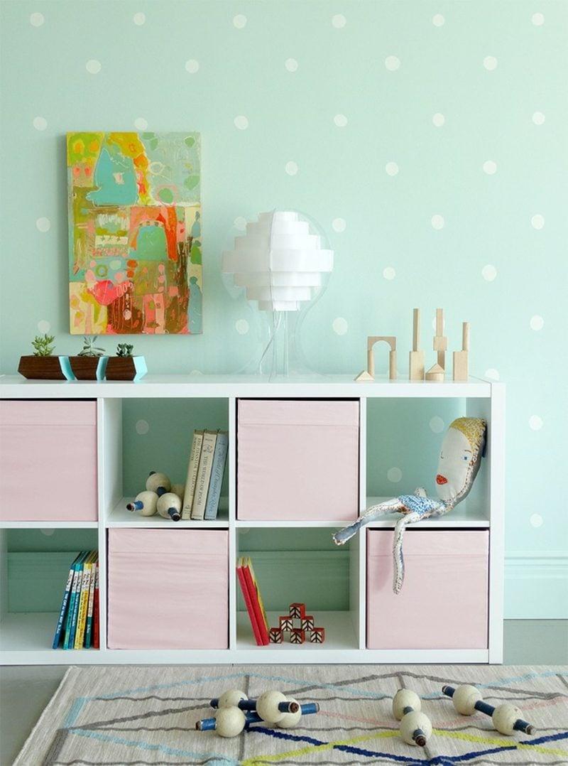 Farbe Salbei vs Minzgrün Kinderzimmer