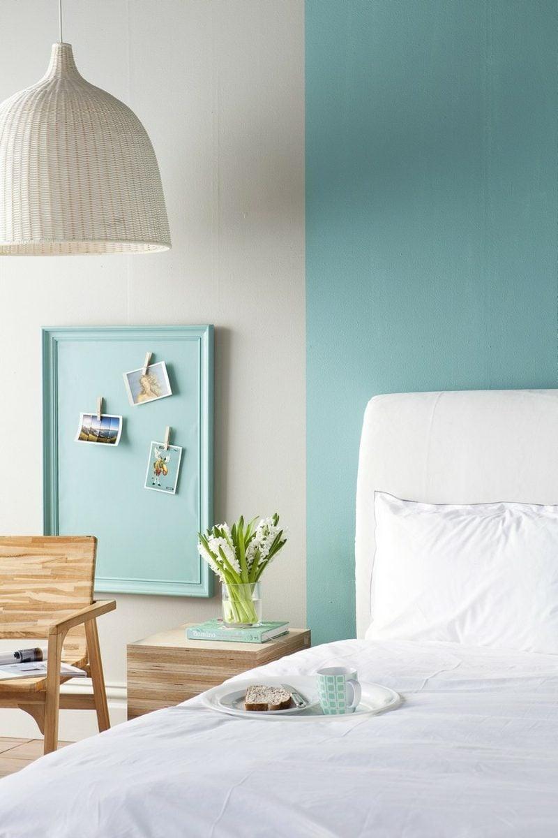 Farbe Salbei vs Minzgrün Schlafzimmer