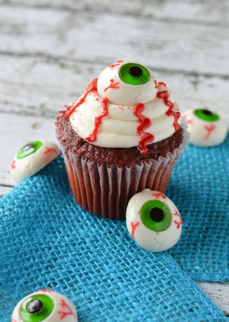 Halloween Muffins Rezept Augen
