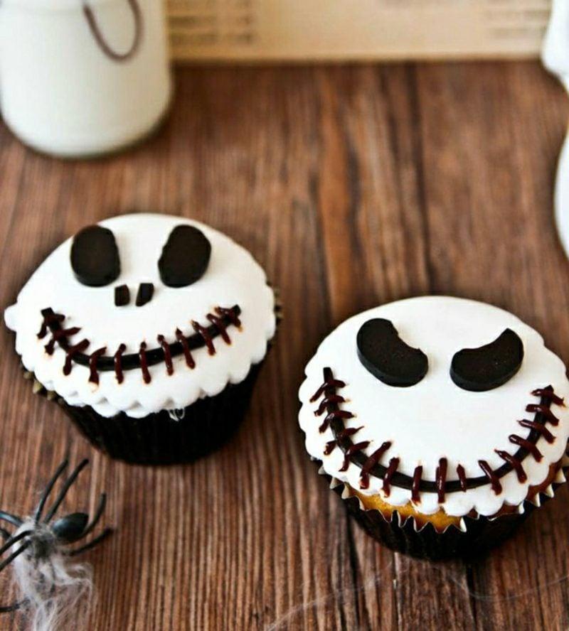 Halloween Muffins Rezept Geister