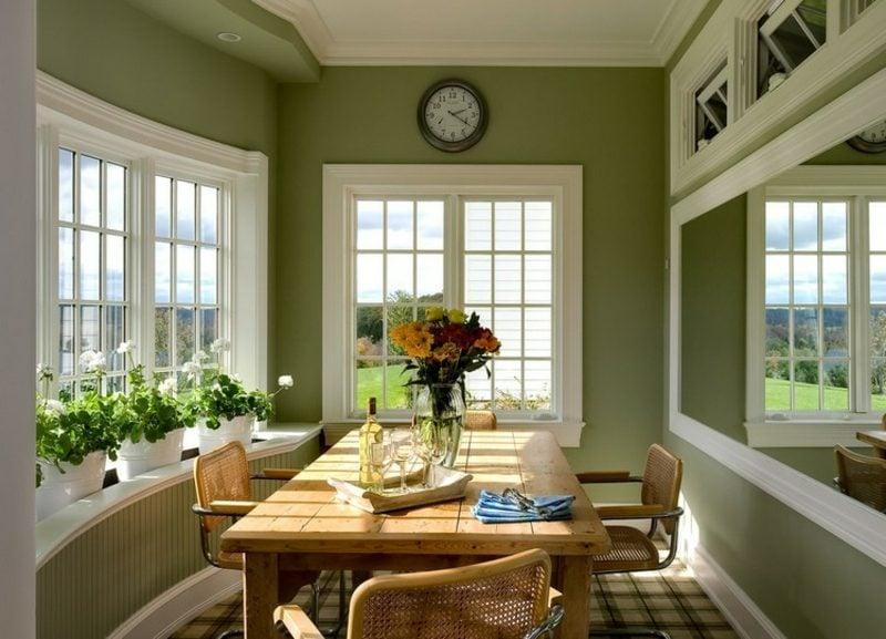 Farbe Salbei vs Olivgrün Essbereich