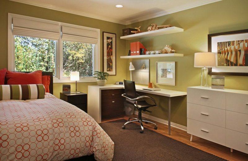 Farbe Salbei vs Olivgrün Jugendzimmer