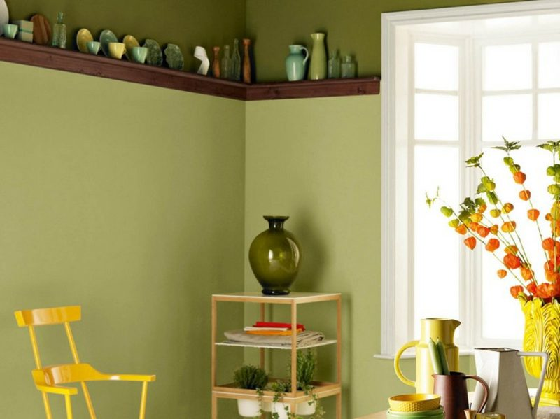 Farbe Salbei vs Olivgrün Küche