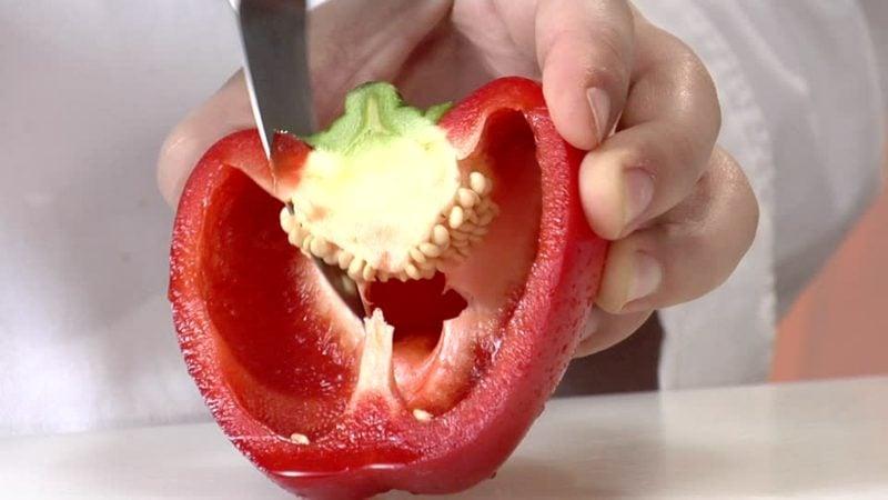 Actifry Rezepte Paprika entkernen