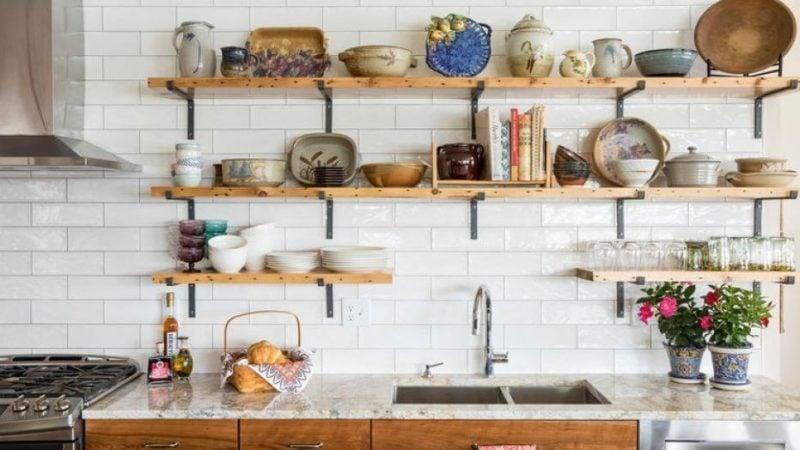 Küchenregale minimalistisch