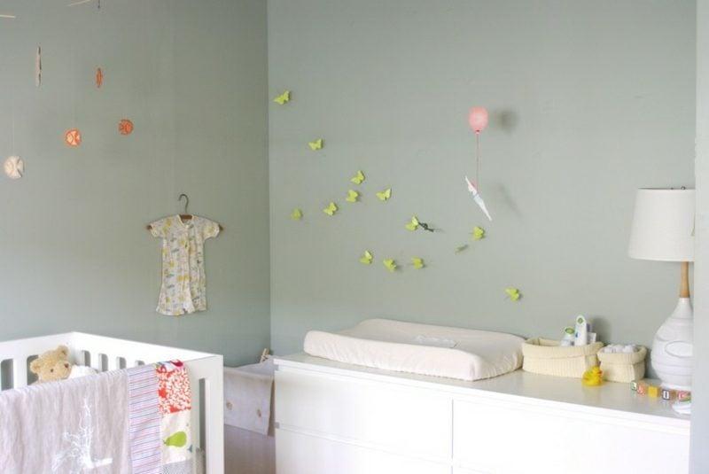 Farbe Salbei babyzimmer