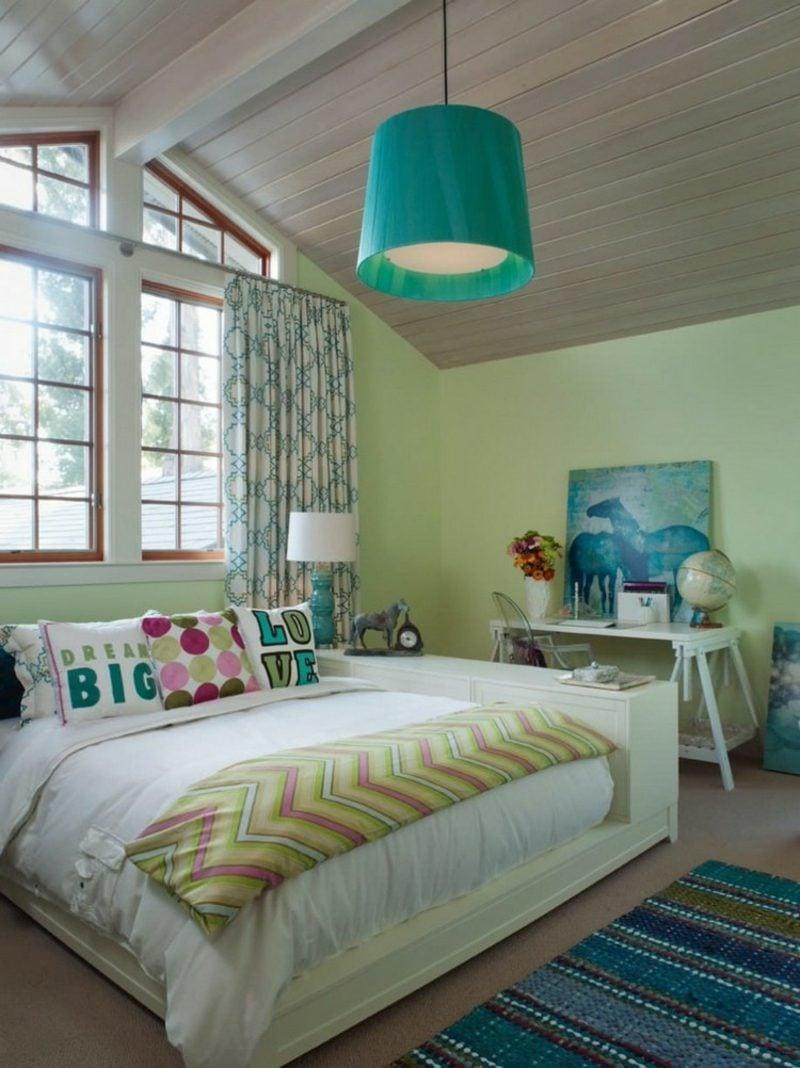 Farbe Salbei Jugendzimmer