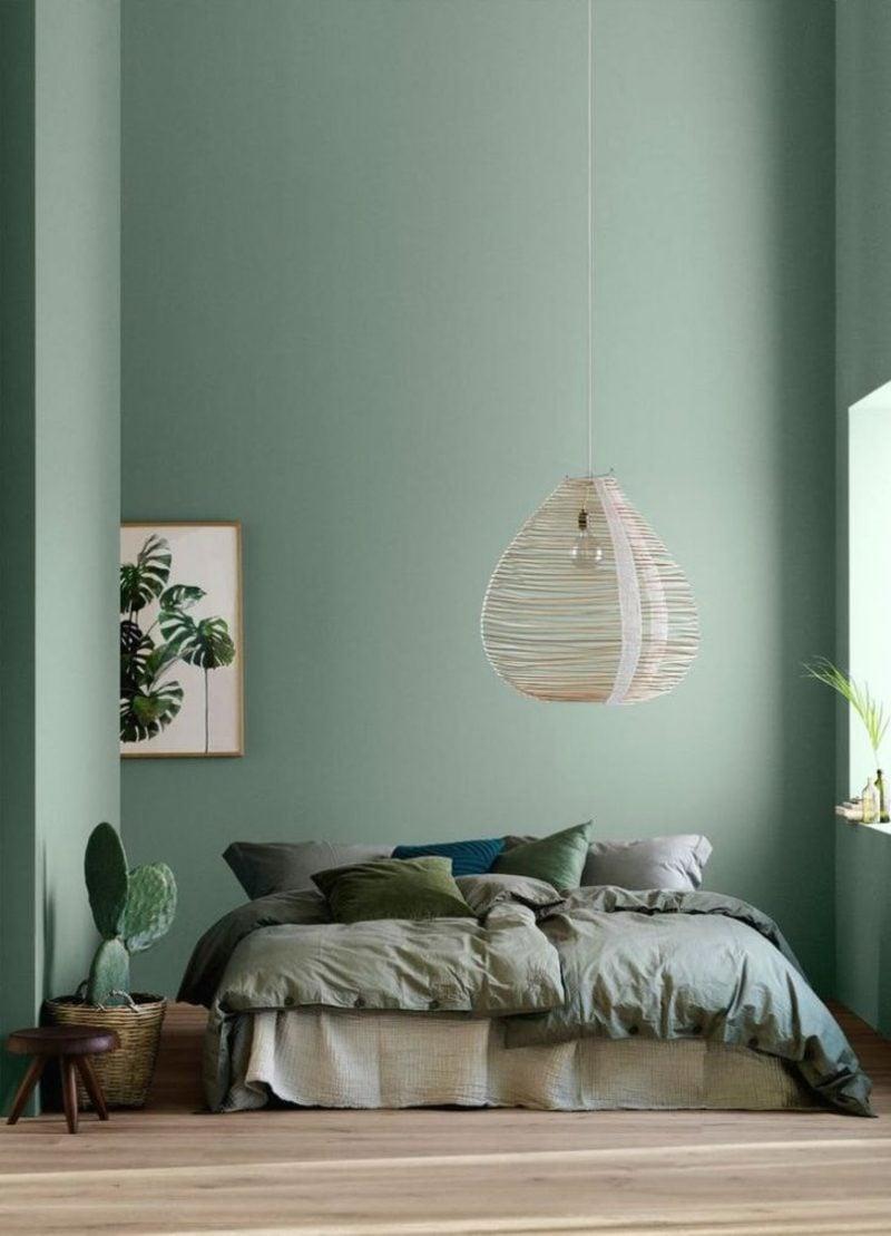 Farbe Salbei Schlafzimmer