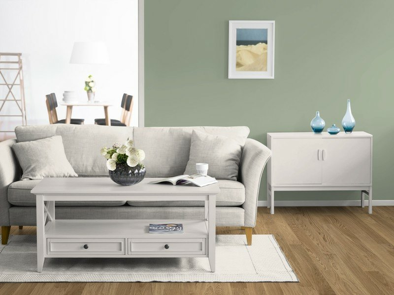 farbe salbei im interieur f r ein angenehmes nat rliches ambiente. Black Bedroom Furniture Sets. Home Design Ideas