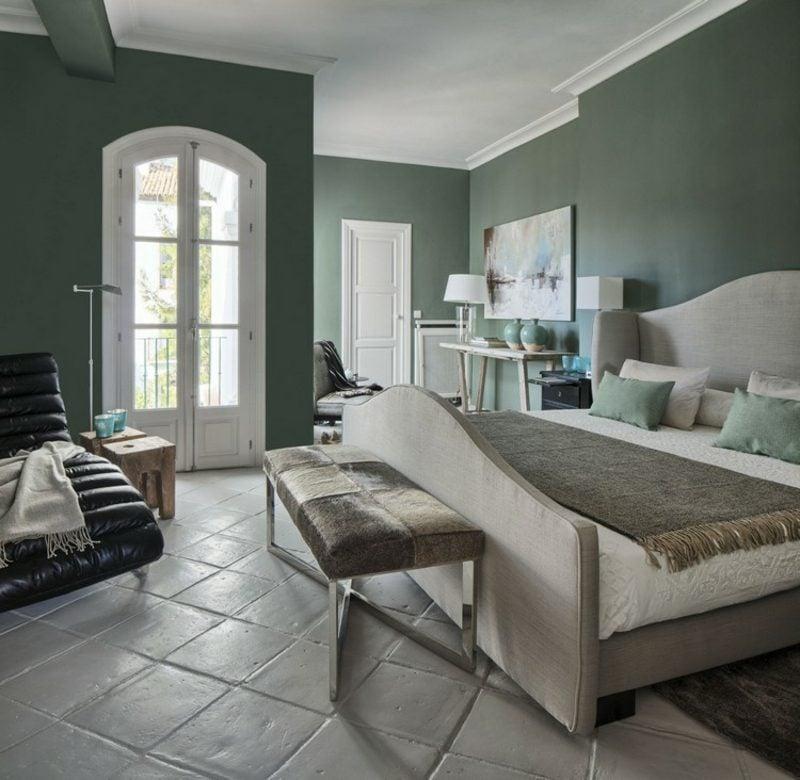 Farbe Salbei dunkel Wohnzimmer