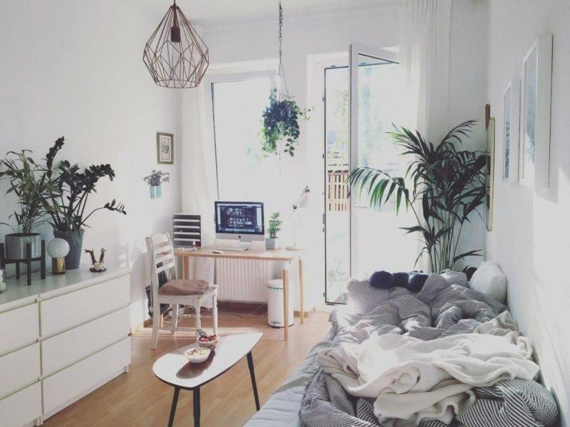 Pflanzen im Schlafzimmer gemütliche Atmosphäre