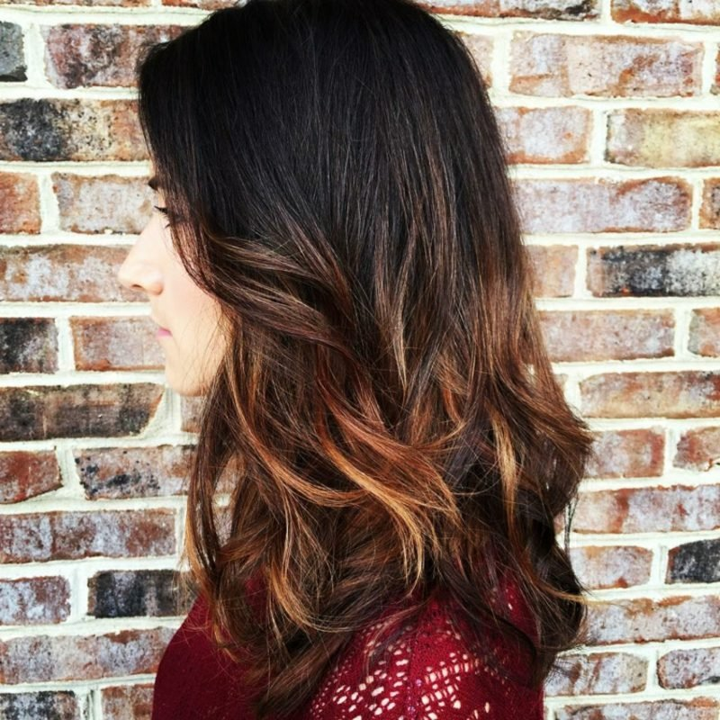 Ombre Braun Soft Ombre