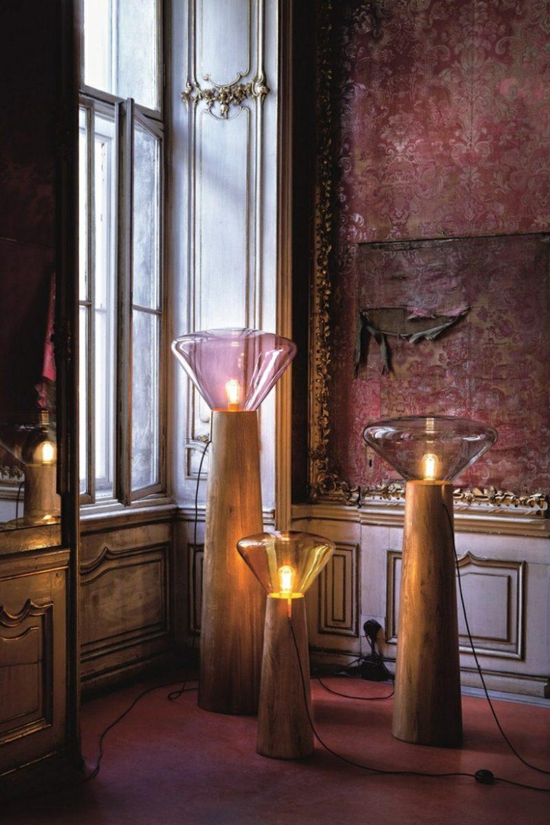 stehlampen modern als blickfang im interieur inspirierende ideen. Black Bedroom Furniture Sets. Home Design Ideas