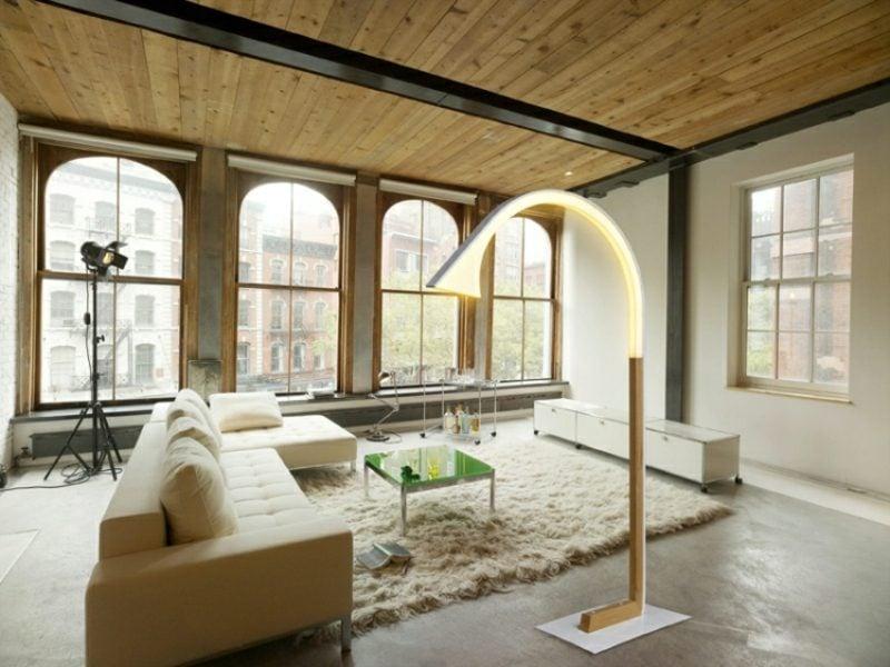 Stehlampen Modern Futuristisch Biegenleuchte