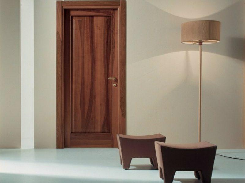 Stehlampen modern Holzschirm gedämpftes Licht