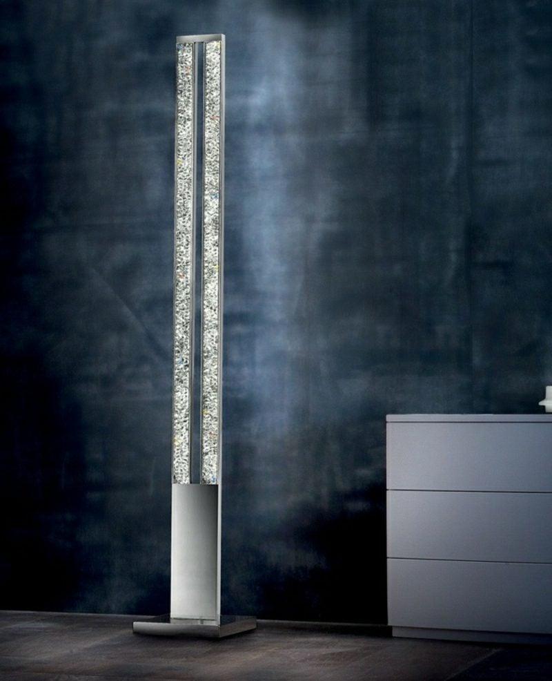 Stehlampen modern Metall und Glas