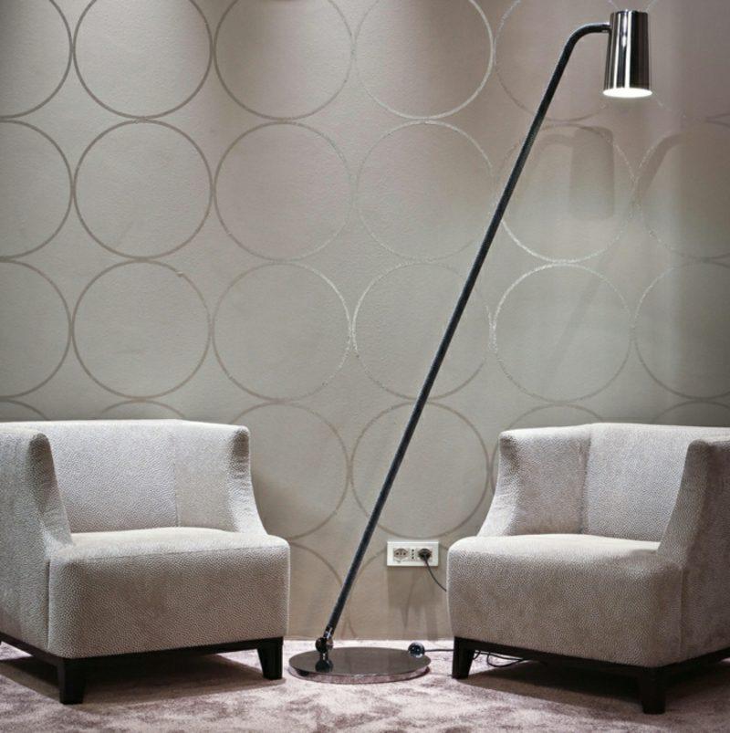 Stehlampen modern Metall Leseecke