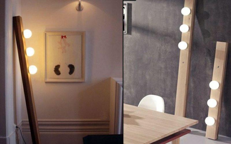 Stehlampen modern schlichtes Design originell