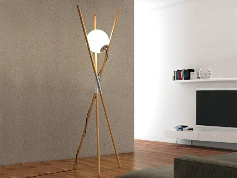 Stehlampen modern minimalistisch