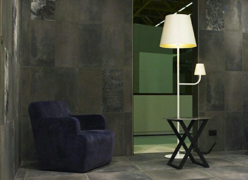 Stehlampen modern originell Leseecke