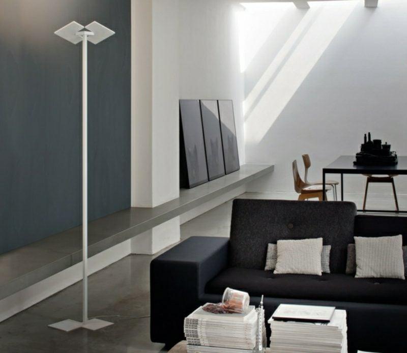 Stehlampen modern minimalistisch Wohnzimmer