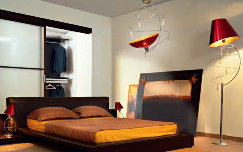 stehlampen modern als blickfang im interieur