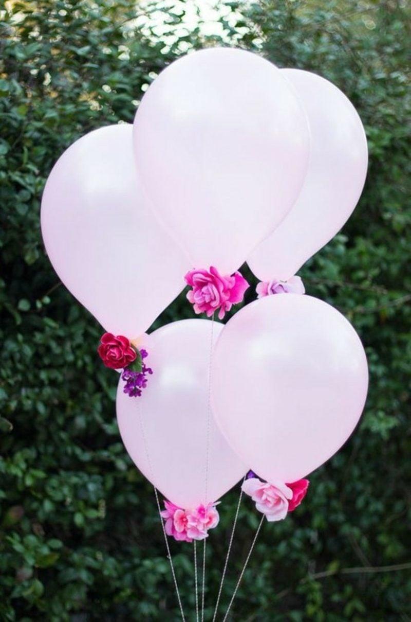 Tischdeko Taufe Luftballons