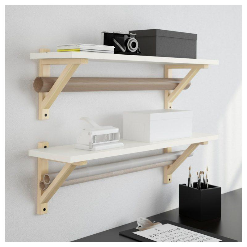 IKEA Wandregal Ekby weiss