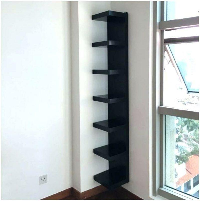 IKEA Wandregal Lack System minimalistisch