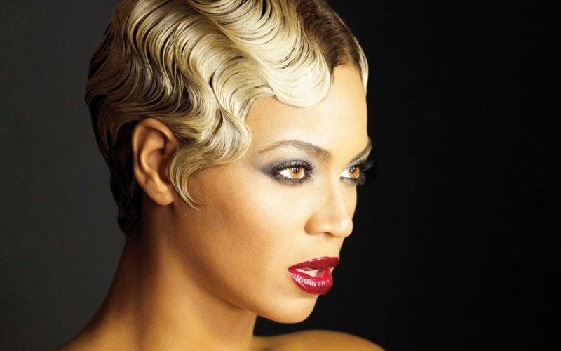 kurze Haare locken Beyonce