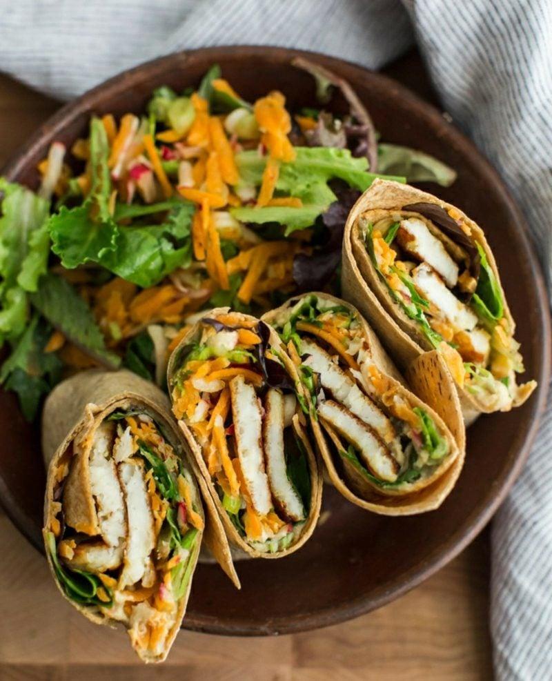 Actifry Rezepte vegetarische Wraps