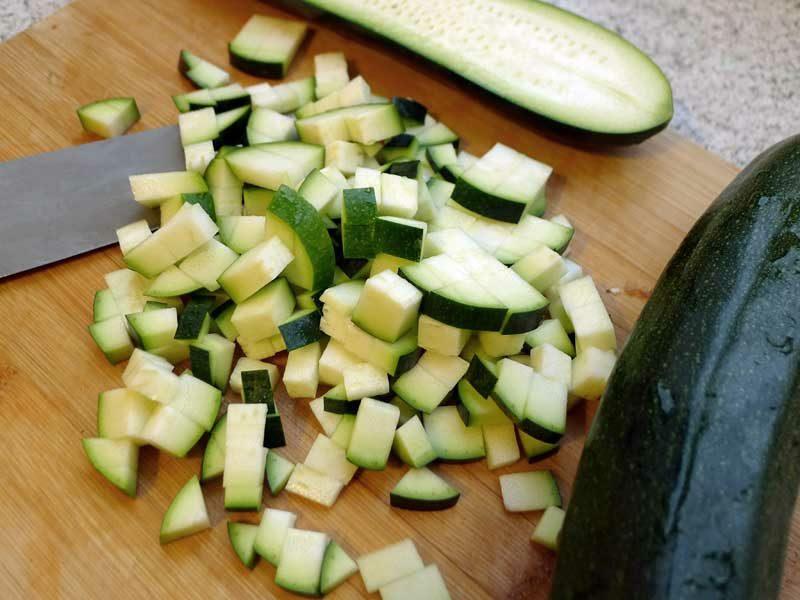 Actifry Rezepte vegetarisch mit Zucchini