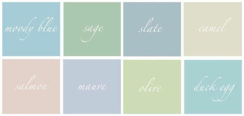 welche Farben passen zusammen analoge Farben