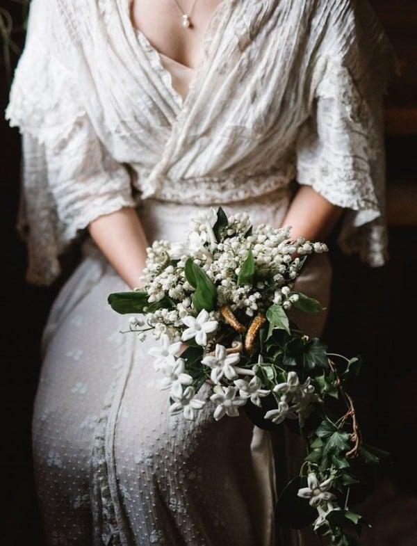 Brautstrauß Pastellfarben für Rustik Hochzeit