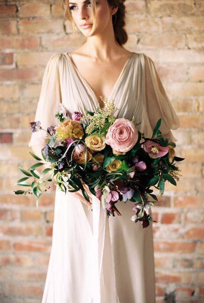 Brautstrauß Wildblumen Ideen