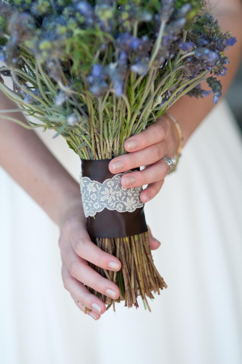 Brautstrauß Vintage Lavendel Ideen