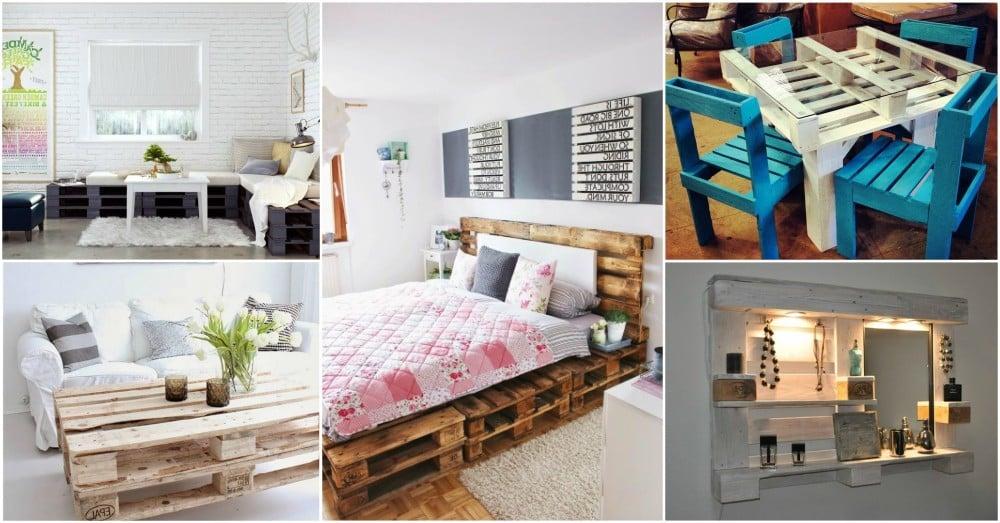 Bett aus Paletten, Schreibtisch, Hocker oder Designer Gartenmöbel - entdecken Sie das Potenzial des Upcycling mit Paletten