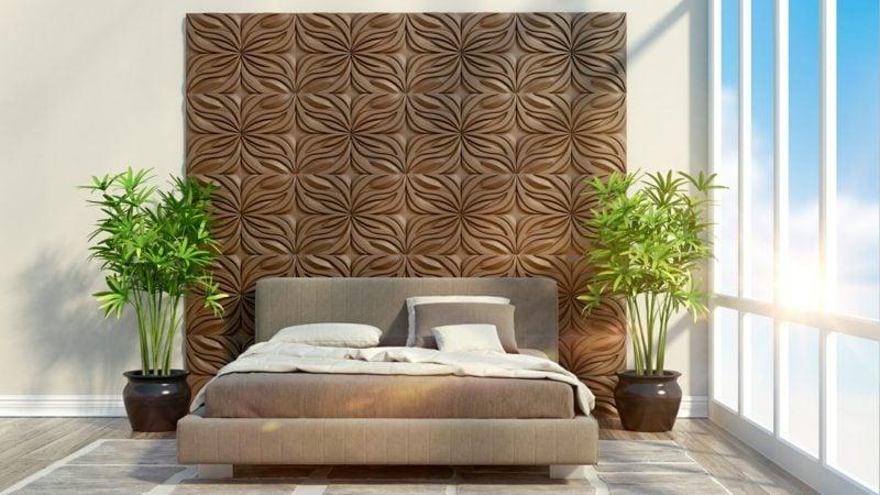 Pflanzen im Schlafzimmer schaffen ein lebendiges Ambiente