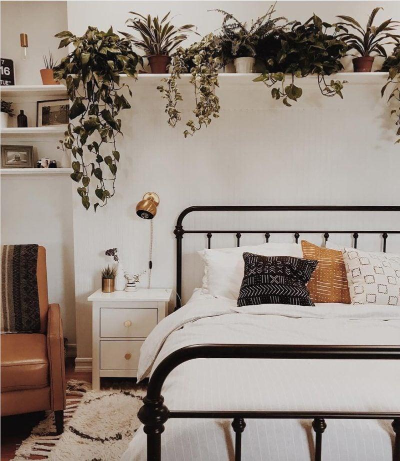 grüne Pflanzen im Schlafzimmer ist das eine gute Idee