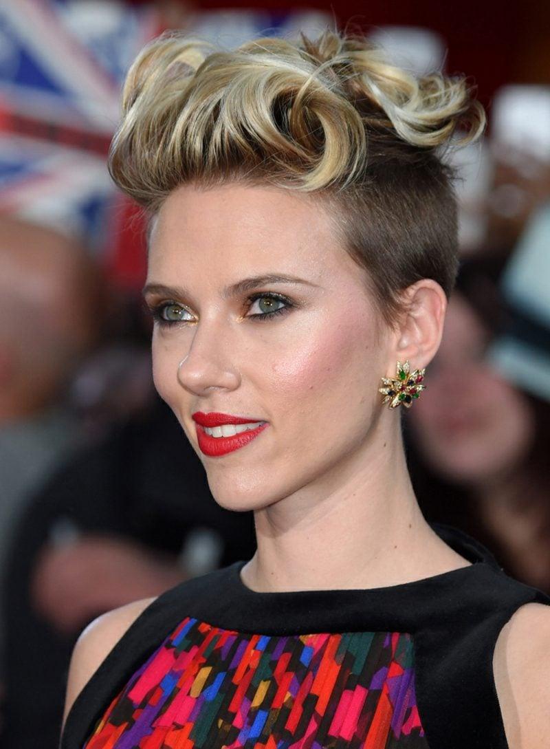 Kurze Haare locken Scarlett Jahansson
