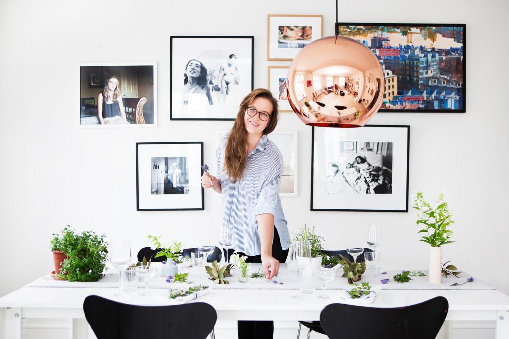 Ideen für Tischdeko fuer die moderne Hausfrau
