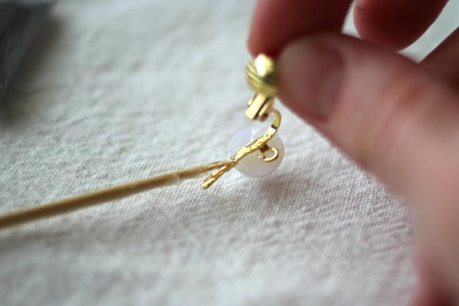 Mit Hilfe vom Perlen Ohrringe Hänger neue Ohrringe selber machen